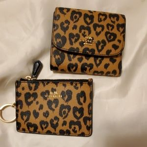 Coach wallet and i.d.keychain